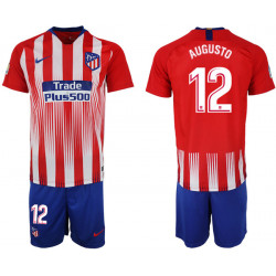 2018/19 Atletico Madrid 12 AUGUSTO Home Soccer Jersey