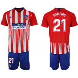 2018/19 Atletico Madrid 21 GAMEIRO Home Soccer Jersey