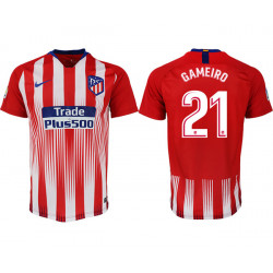2018/19 Atletico Madrid 21 GAMEIRO Home Thailand Soccer Jersey