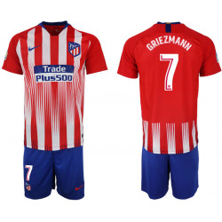 2018/19 Atletico Madrid 7 GRIEZMANN Home Soccer Jersey