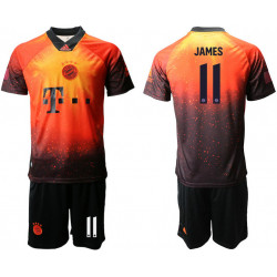 2018/19 Bayern Munich 11 JAMES FIFA Digital Kit Soccer Jersey