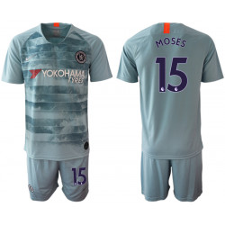 2018/19 Chelsea 15 MOSES Third Away Soccer Jersey