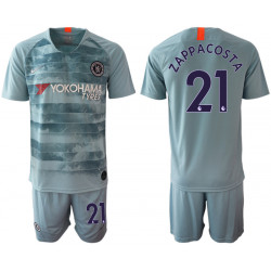 2018/19 Chelsea 21 ZAPPACOSTA Third Away Soccer Jersey