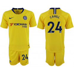 2018/19 Chelsea 24 CAHILL Away Soccer Jersey
