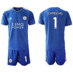 2018/19 Leicester City 1 SCHMEICHEL Home Soccer Jersey