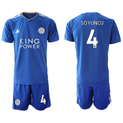 2018/19 Leicester City 4 SOYUNCU Home Soccer Jersey