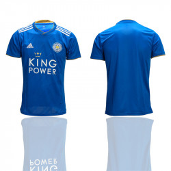 2018/19 Leicester City Home Thailand Soccer Jersey