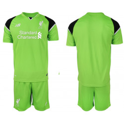 2018/19 Liverpool Green Goalkeeper Soccer Jersey
