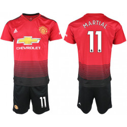 2018/19 Manchester United 11 MARTIAL Home Soccer Jersey