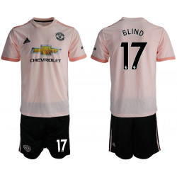 2018/19 Manchester United 17 BLIND Away Soccer Jersey
