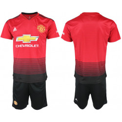 2018/19 Manchester United Home Soccer Jersey
