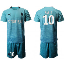 2018/19 Marseille 10 PAYET Away Soccer Jersey