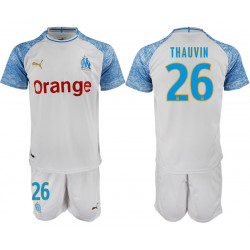 2018/19 Marseille 26 THAUVIN Home Soccer Jersey