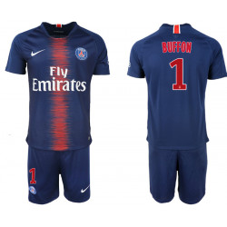 2018/19 Pari Saint Germain 1 BUFFON Home Soccer Jersey