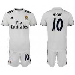 2018/19 Real Madrid 10 MODRIC Home Soccer Jersey