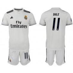 2018/19 Real Madrid 11 BALE Home Soccer Jersey