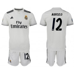 2018/19 Real Madrid 12 MARCELO Home Soccer Jersey