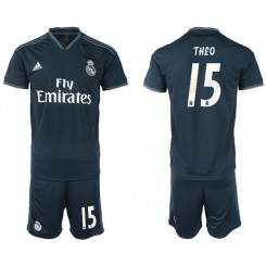 2018/19 Real Madrid 15 THEO Away Soccer Jersey