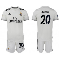 2018/19 Real Madrid 20 ASENSIO Home Soccer Jersey