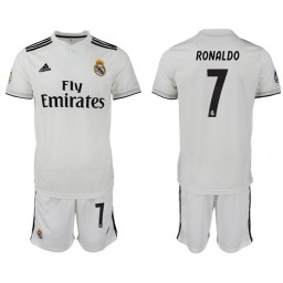 2018/19 Real Madrid 7 RONALDO Home Soccer Jersey