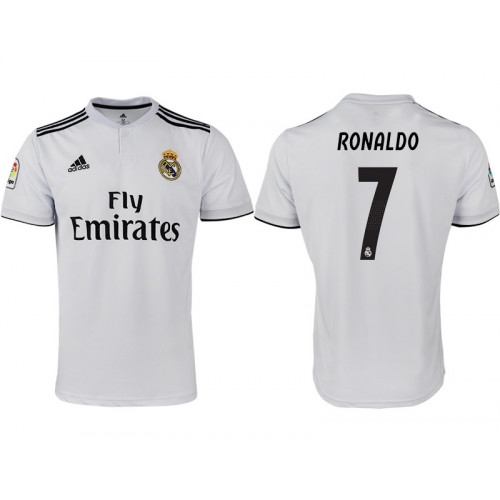 reputable site 19c23 37c81 2018/19 Real Madrid 7 RONALDO Home Thailand Soccer Jersey