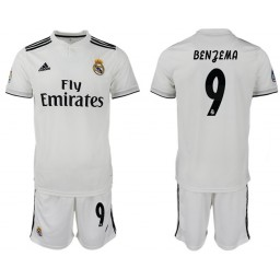 2018/19 Real Madrid 9 BENJEMA Home Soccer Jersey