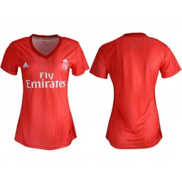 Women's 2018/19 Real Madrid Away Soccer Jersey