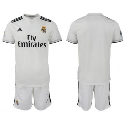 2018/19 Real Madrid Home Soccer Jersey