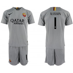 2018/19 AS Roma 1 ALISSON Away Soccer Jersey