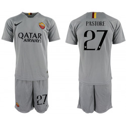 2018/19 AS Roma 27 PASTORE Away Soccer Jersey