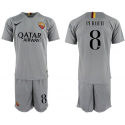 2018/19 AS Roma 8 PEROTTI Away Soccer Jersey