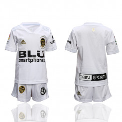 Kid's 2018/19 Valencia Home Soccer Jersey