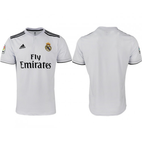 2018/19 Real Madrid Home Thailand Soccer Jersey