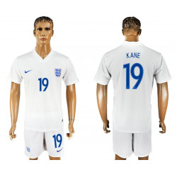 2018 Fifa World Cup England Home #19 Jersey