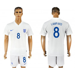2018 Fifa World Cup England Home #8 Jersey