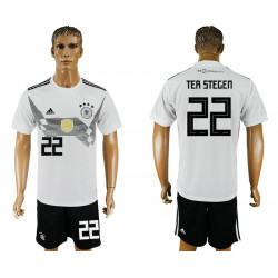 2018 Fifa World Cup Germany Home #22 Jersey