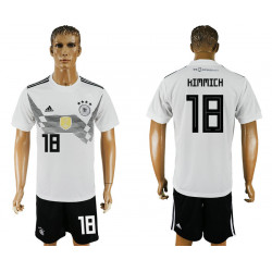 2018 Fifa World Cup Germany Home #18 Jersey