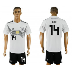 2018 Fifa World Cup Germany Home #14 Jersey