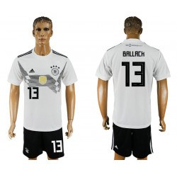 2018 Fifa World Cup Germany Home #13 Jersey