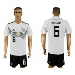 2018 Fifa World Cup Germany Home #6 Jersey