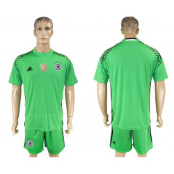 2018 Fifa World Cup Germany Green Goalkeeper Jersey