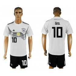 2018 Fifa World Cup Germany Home #10 Jersey