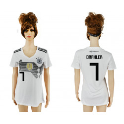 Women's 2018 Fifa World Cup Germany Home Authentic Version Womens 7# Jersey