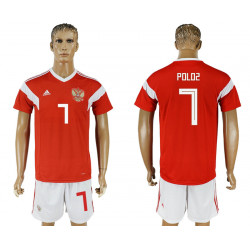 2018 Fifa World Cup Russia Home #7 Jersey