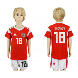 Kids 2018 Fifa World Cup Russia Home Kids 18# Jersey