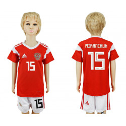 Kids 2018 Fifa World Cup Russia Home Kids 15# Jersey
