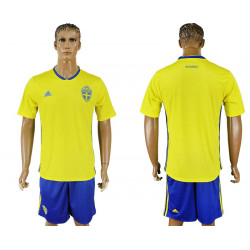 2018 Fifa World Cup Sweden Home Jersey