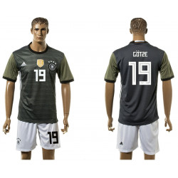 2018 Fifa World Cup Germany Away #19 Jersey