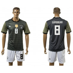 2018 Fifa World Cup Germany Away #8 Jersey
