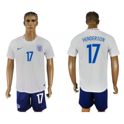 2018 Fifa World Cup England Home #17 Jersey